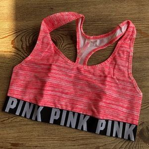 Victoria's Secret PINK Medium Sports Bra in Pink